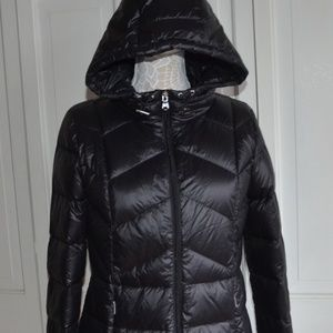 Ralph Lauren Quilted Hooded Down Coat Size Small